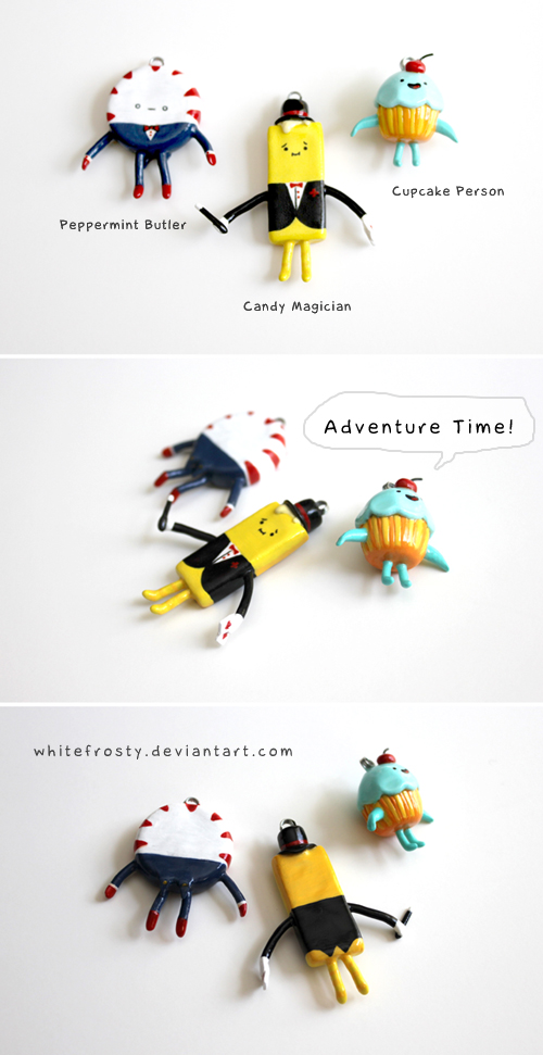 Adventure Time Charms - Candy People by whitefrosty