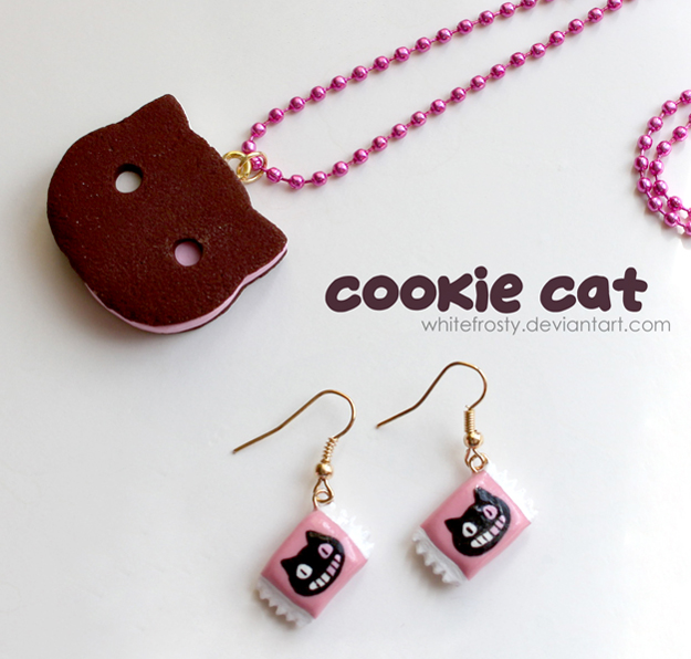 Cookie Cat by whitefrosty