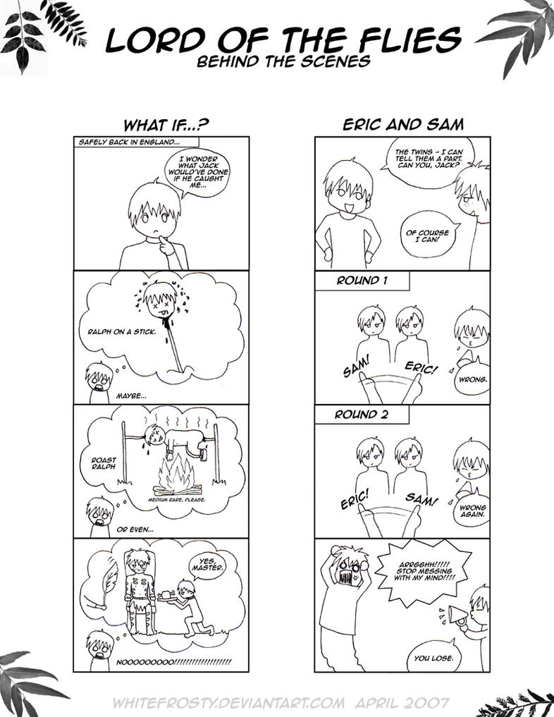 Lord of the flies omake by whitefrosty on deviantart