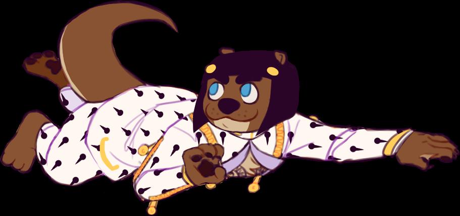 JJBA5: Otter Bruno By Loutrem On DeviantArt