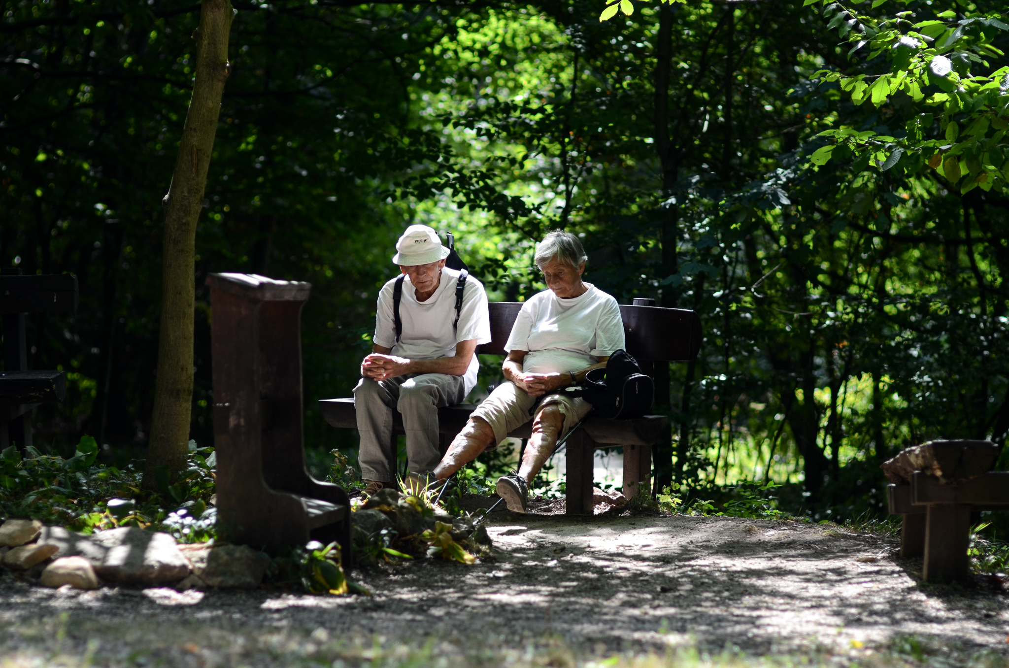 Old Couple by albertsphotos