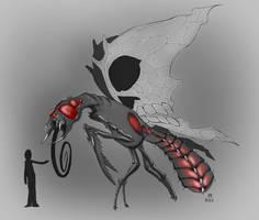 Giant Carnivorous Butterfly by MrMayhemm