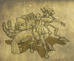 Bounty Hunters by MrMayhemm