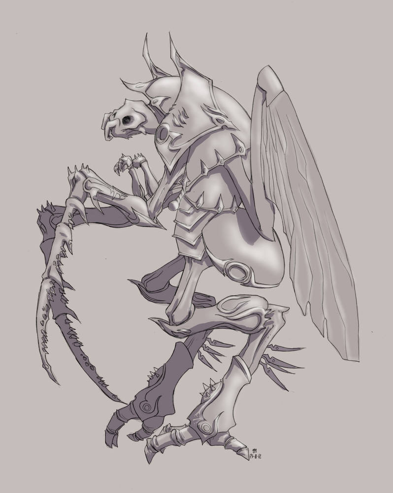 Commission Sholait Beetle by MrMayhemm