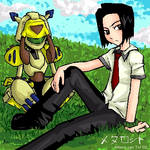Medabots - Koji and Sumilidon