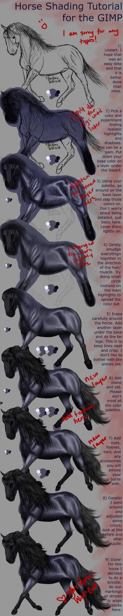 Horse Shading Tutorial V2 by Vizseryn