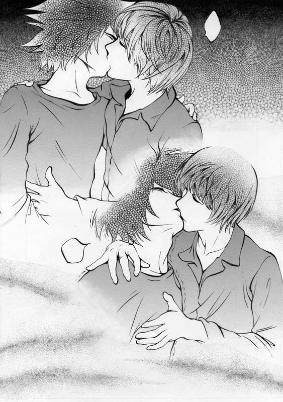 LightxL Kiss by Jesse-Yuki