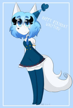 Birthday gift for wolfychu