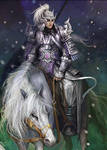 Zhao Yun on His Horse by fahrenheit90