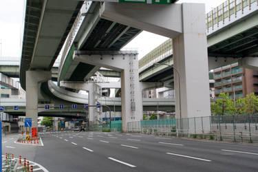 Osaka's roads by erysfoly