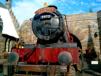 Hogwarts Express by erysfoly