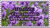 I love the Name Lavender by Mandspasm