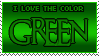 Color: Green by Mandspasm