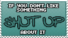 If You Don't Like Something by Mandspasm
