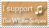 The White Stripes  - Stamp by N-ico