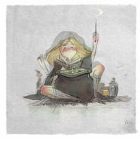 Polyjuice potion by Eirwen980