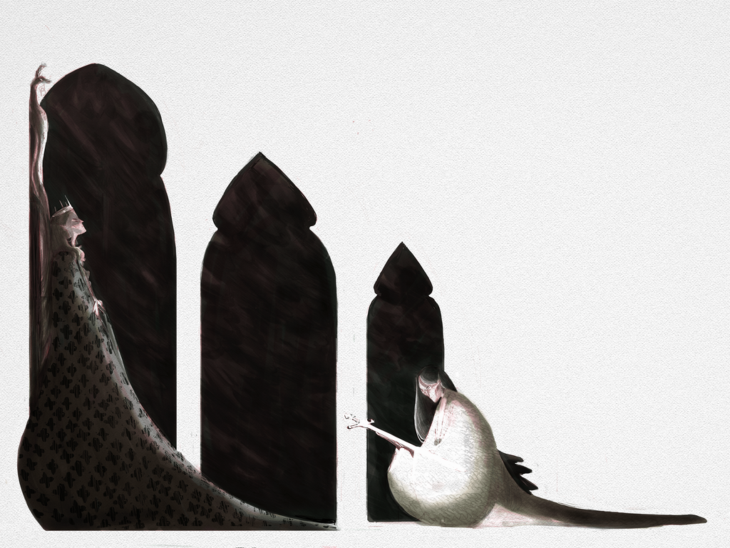 Thingol and Eol by Eirwen980