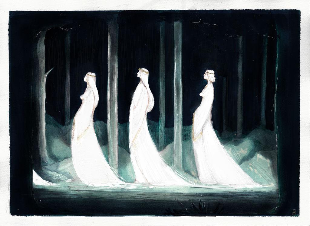 Elven march by Pigliamosche