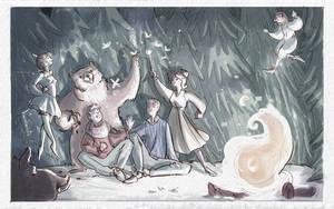 illustration for children book 2 by Eirwen980