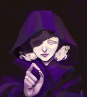 violet witch by Eirwen980