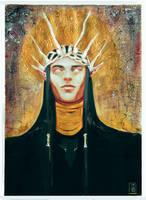 Melkor- cool toned version by Eirwen980