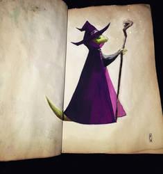 Little lizard sketch by Eirwen980
