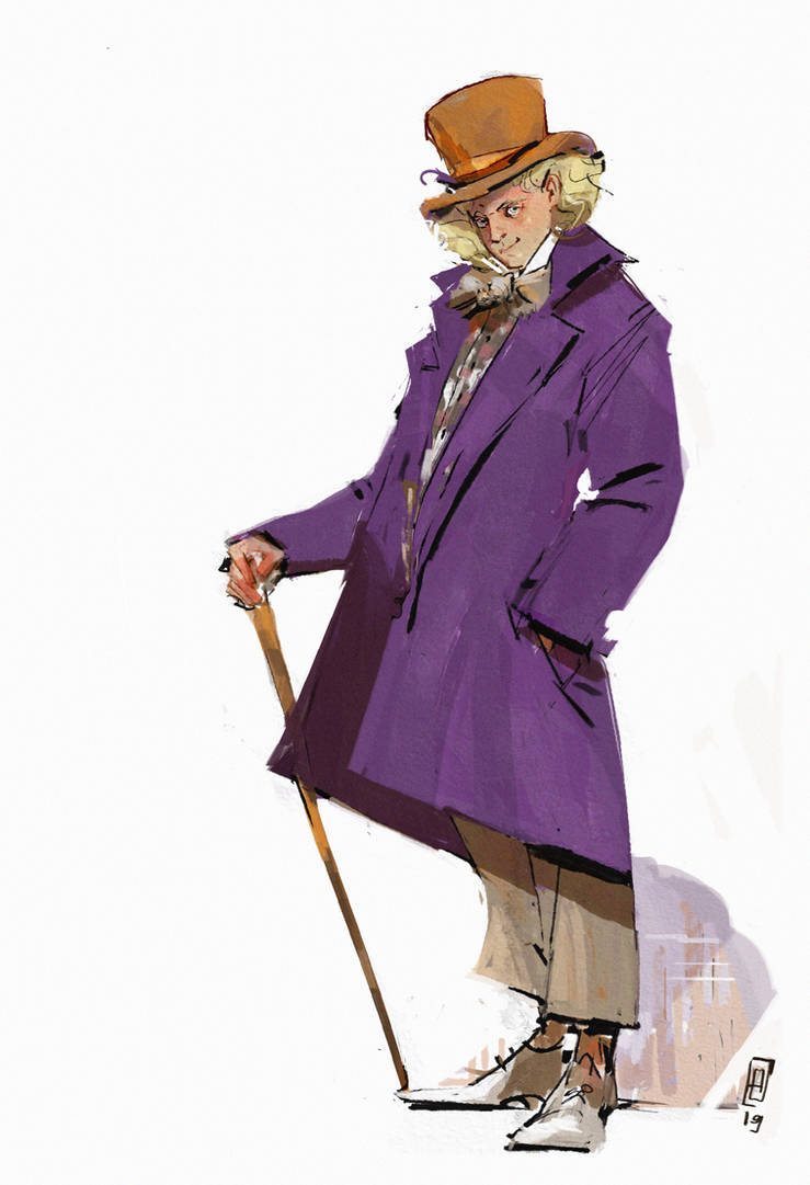Willy Wonka by Eirwen980