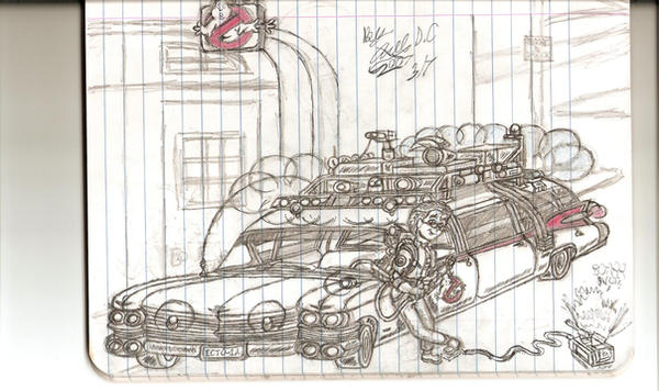 ecto1 and me by GBAxel