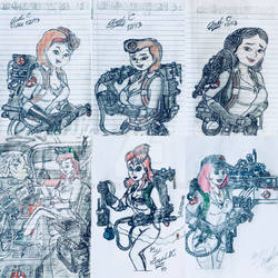 My Female Led Ghostbusters Team by GBAxel