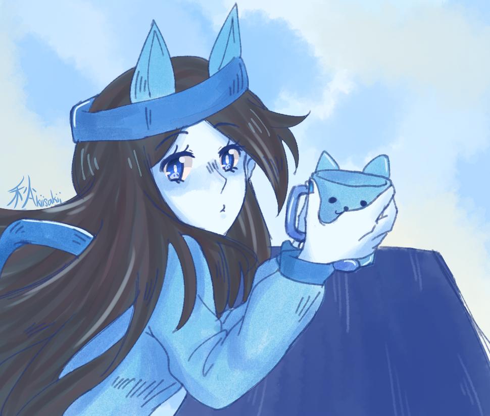 Blue Day by aidoruutrash