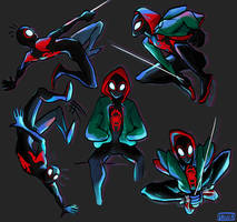 Into the Spiderverse- Miles by saillix