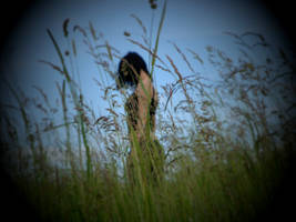 Me in grass