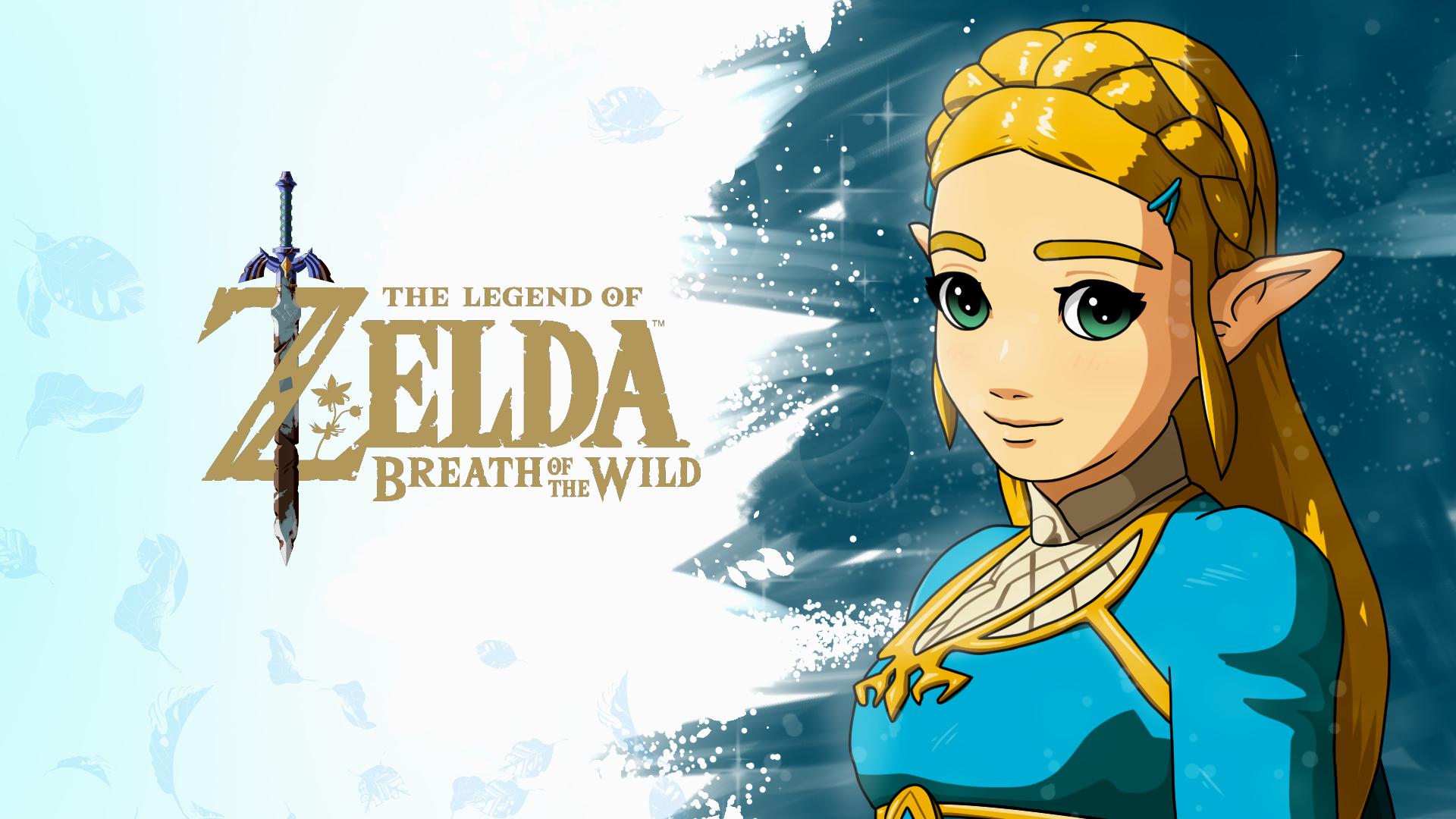 Breath Of The Wild Zelda Wallpaper By Nkosi8cake On Deviantart
