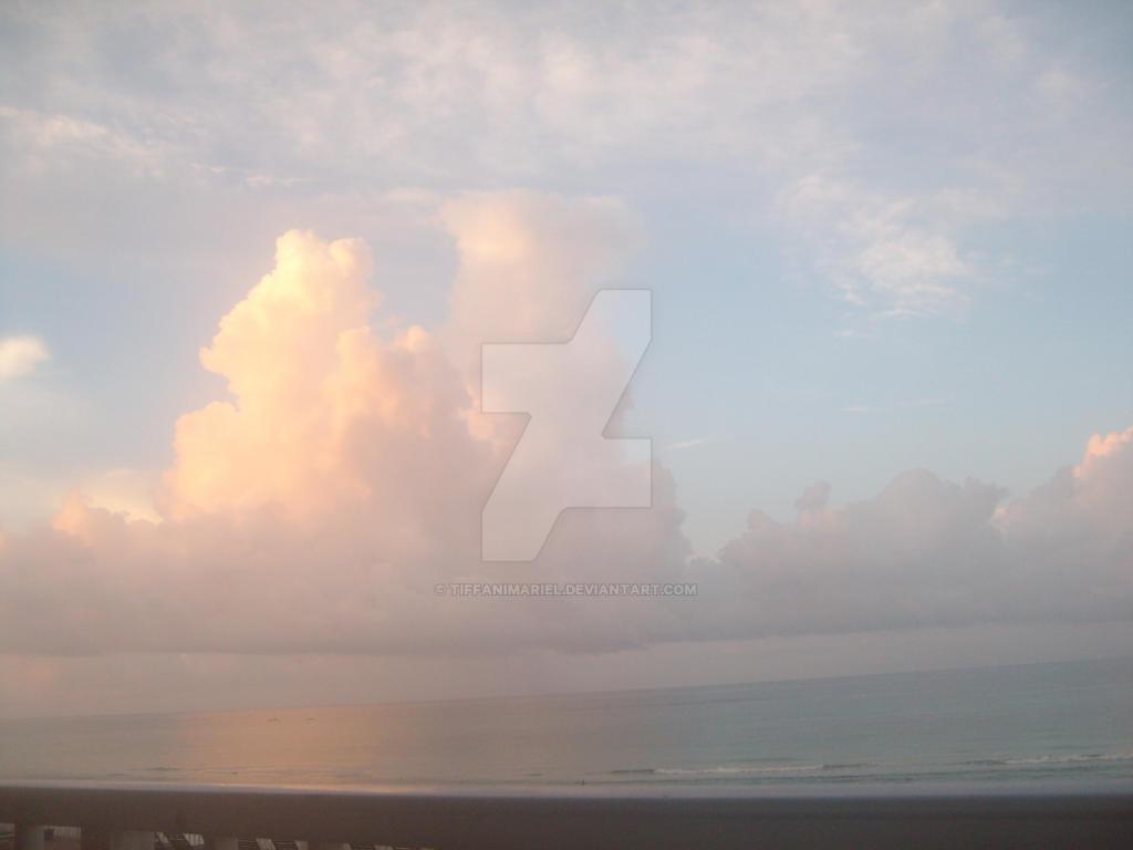 Sunset Beach by TiffaniMariel