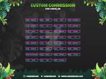 Twitch Panel Commission Chibi Techno