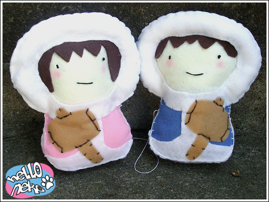plushies - ice climbers by tarouchan