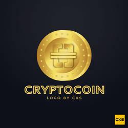 Cryptocurrency-cryptocoin-logo-design