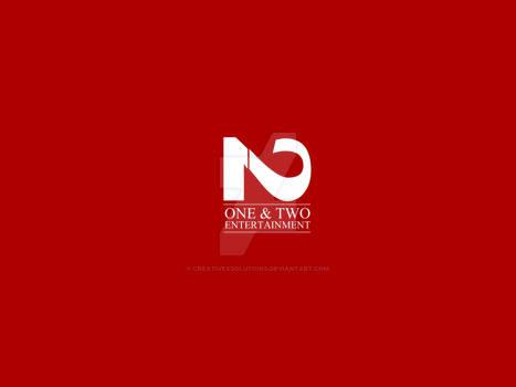 One-and-two-creative-minimalist-modern-logo-design