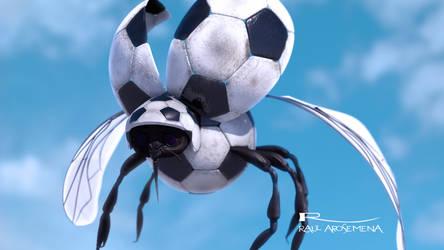 Bichito del Futbol by raularosemena