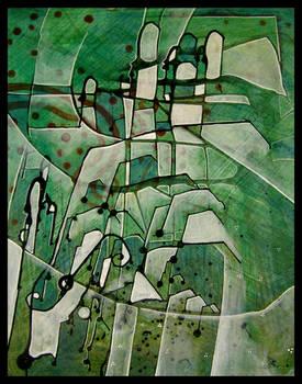 green abstractos tos