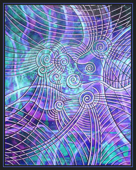 blue abstractos....