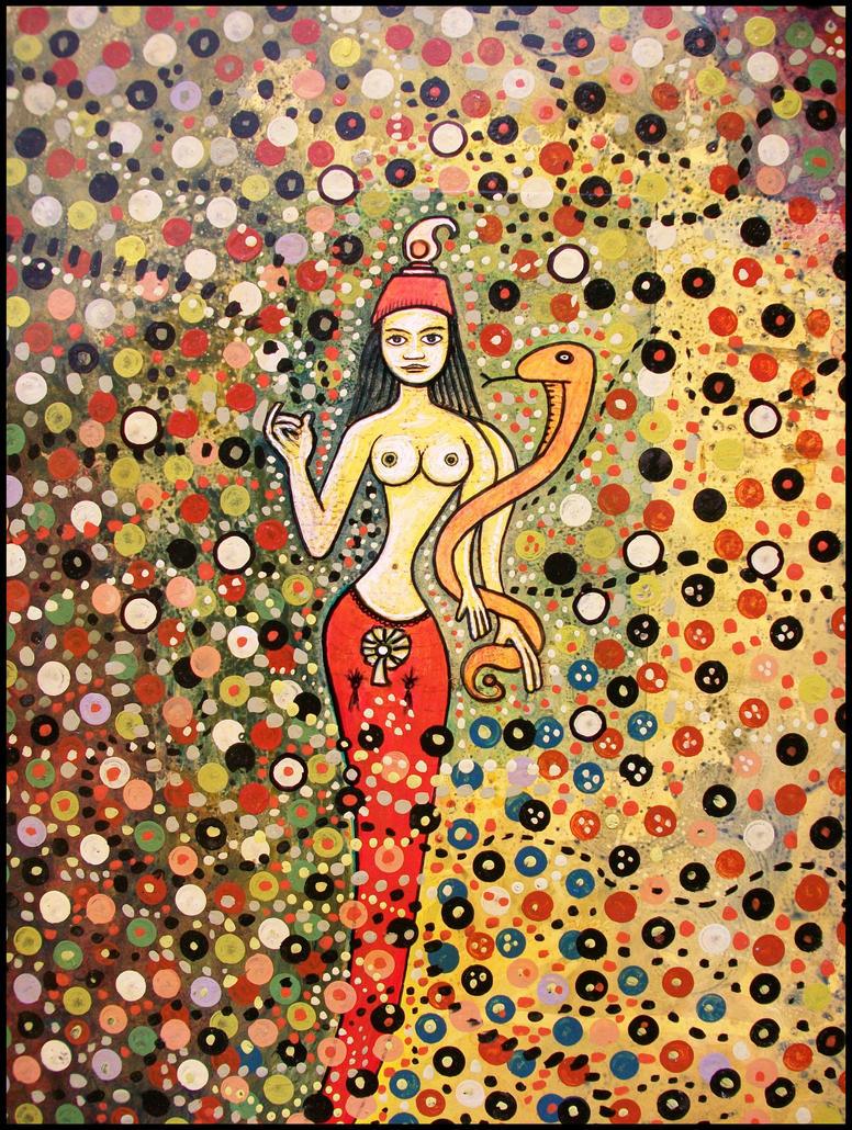 funky mermaid. by santosam81