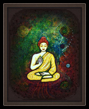 oldpaintingrevisited budha