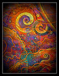 oldpaintingrevisited abstract spiral