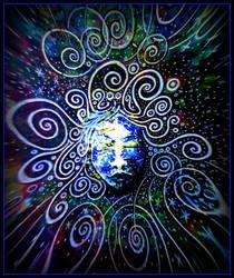 cosmic gaia by santosam81