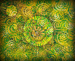 bbl green spiral cercle by santosam81