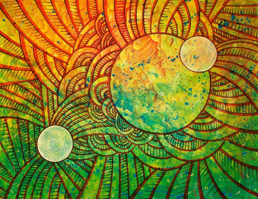 trippy cosmos sun n moons by santosam81 on DeviantArt