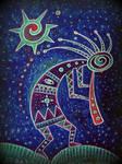 shaman hopi kokopelli kashina santosun in the dark