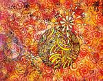 yellorange messpiral by santosam81