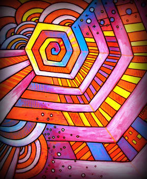 spiralo hexago coloro